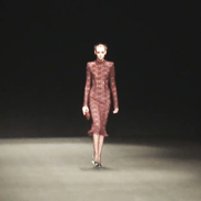 Monique Lhuillier Autumn/Winter collection has casual and evening wear fully covered.