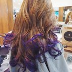 Throwback to the primary colour of my wedding as I prepare to set off for my honeymoon! 💜💜💜 Gorgeous purple waves by William of #ShunjiMatsuo!Quote 'Honeyz' to receive 10% off any chemical service by Shunji Matsuo (Ngee Ann) senior stylist, William. :) #clozette #hotd #purplewaves