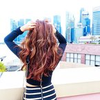 TGIF everyone!! // #clozette #hair #AsNTM3 #SingaporeOnTop // This look is still up on my blog.