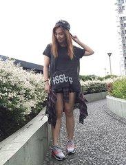 Saturday basics. Love this breezy top from @f21philippines ❤️❤️❤️ #ootd #clozette #clozetteco #pilipinasootd  @pilipinasootd #bloggersph #megLOTD #igersmnl #forever21ph #basics #black #patrishwears