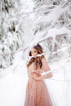 beautiful in the snow