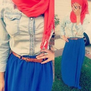 #clozetteID #ootd #fashion #style #behappy #weekand #smile #blue #jeans #red