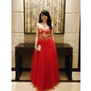 My dress tonight by @marettamarli @marlilionk for Panasonic Gobel Awards... thank you :) #clozetteambassador #panasonicbeauty #panasoniczoominbeauty3 #panasonic #zoominbeautypanasonic #zoominbeauty #redcarpet #reddress #clozetteid #ootdindo #ootd #lookbook #lookbookindonesia #femaledaily #fdbeauty